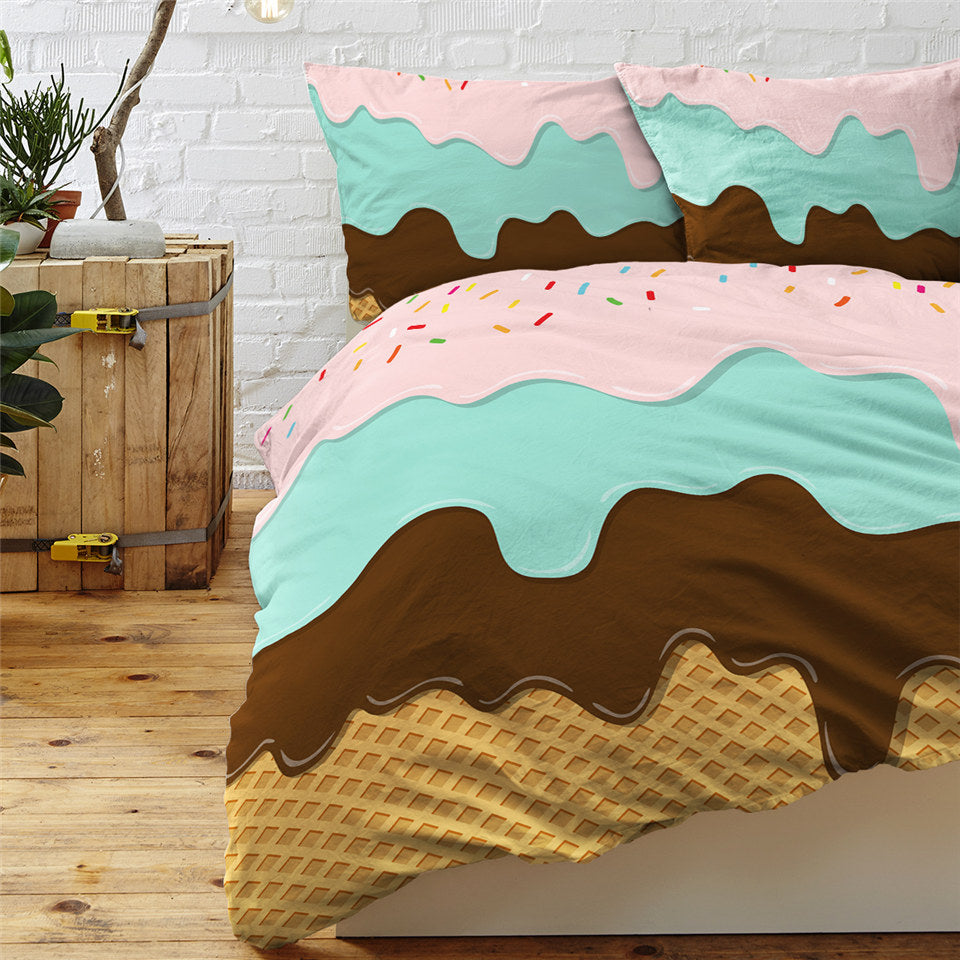 Ice Cream Layers Bedding Set - Beddingify