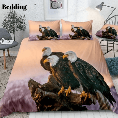 Bald Eagle Bedding Set - Beddingify
