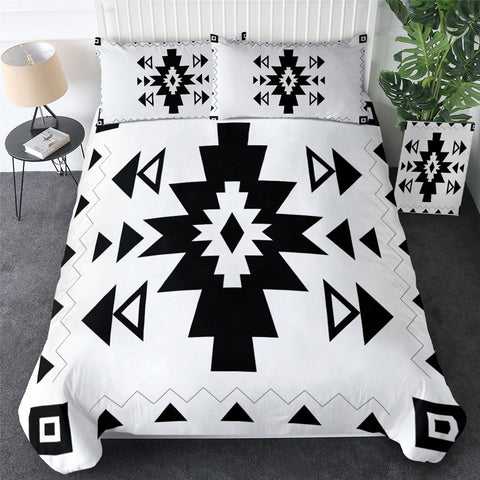 Image of Aztec Simple Designs Bedding Set - Beddingify