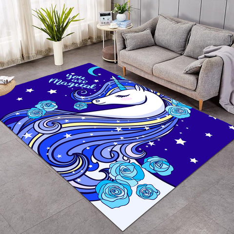 Image of Icy Unicorn Magical SW0305 Rug