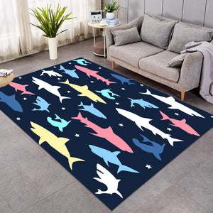 Shark Shadows SW0102 Rug