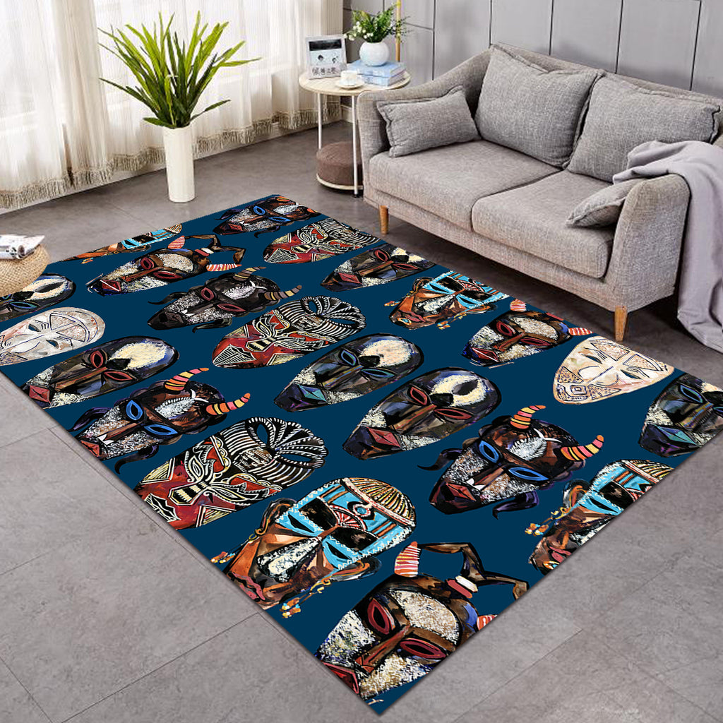 Tribal Faces SW0874 Rug