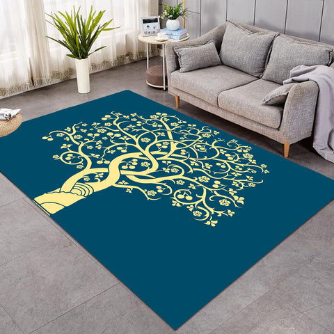 Image of Twisted Tree Branches SW0626 Rug