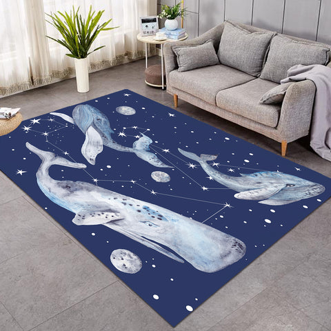 Image of Space Whales Constellation SW0082 Rug