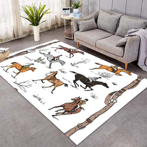 Image of Horse Riders SW0673 Rug