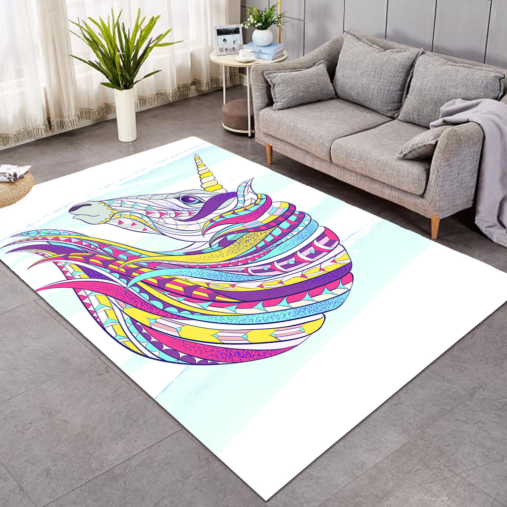 Unicorn's Colorful Mane SW0506 Rug