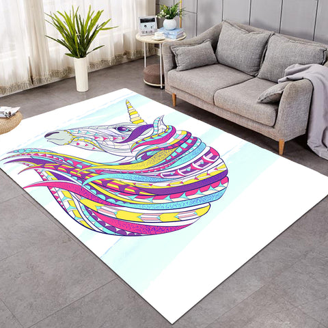 Image of Unicorn's Colorful Mane SW0506 Rug