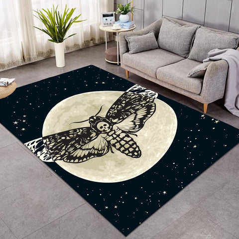 Image of Full Moon Moth SW0047 Rug