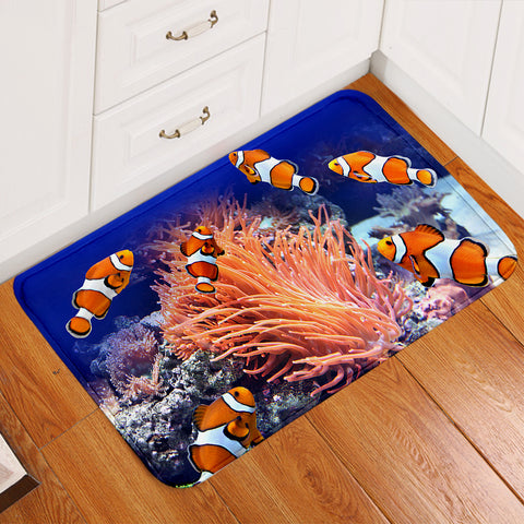 Image of 3D Clown Fish Door Mat
