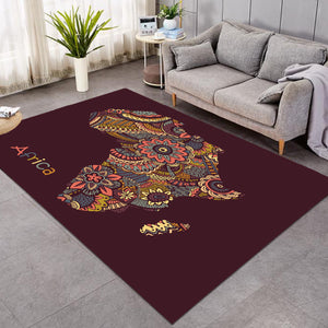 Africa Stylized Continent SW1510 Rug