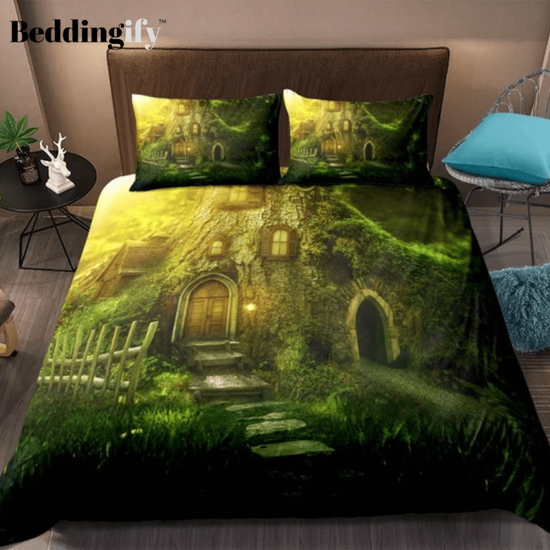 3D Forest Dreamland Bedding Set - Beddingify