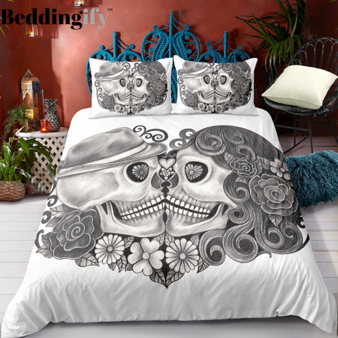 Image of H9 Skull Bedding Set - Beddingify