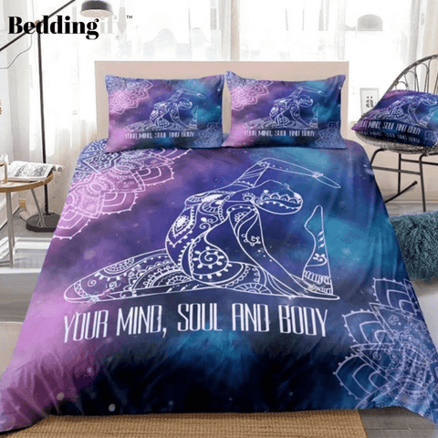 Image of Mandala Starry Sky Bohemian Bedding Set - Beddingify