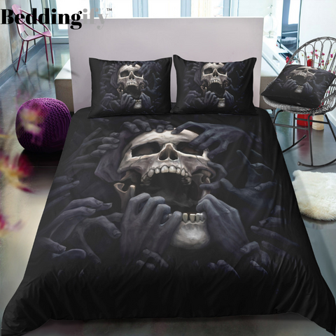 I1 Skull Bedding Set - Beddingify