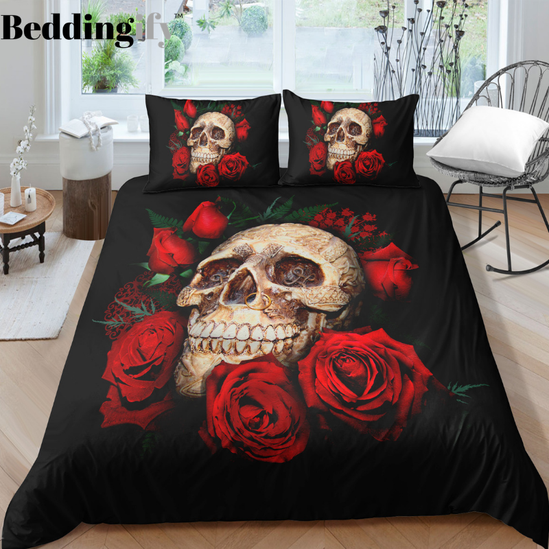 I2 Skull Bedding Set - Beddingify