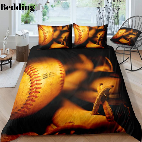 Vintage Baseball Bedding Set - Beddingify