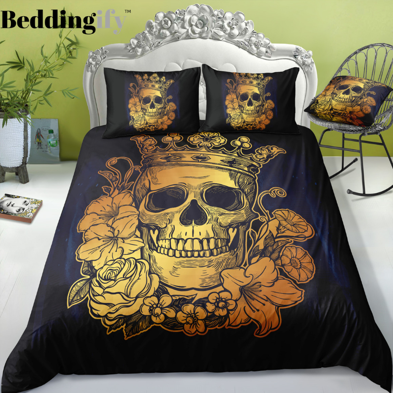 I4 Skull Bedding Set - Beddingify