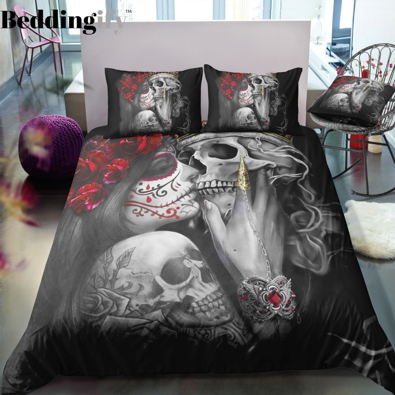 I5 Skull Bedding Set - Beddingify
