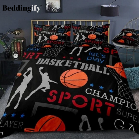 Team Sports Themed Bedding Set - Beddingify