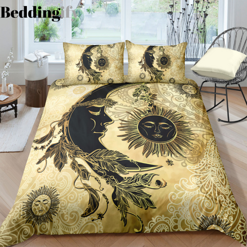 Moon Dreamcatcher Bedding Set - Beddingify