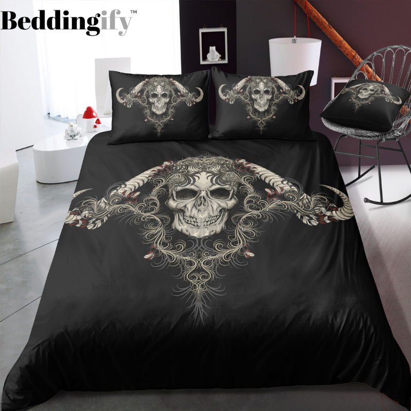 I7 Skull Bedding Set - Beddingify