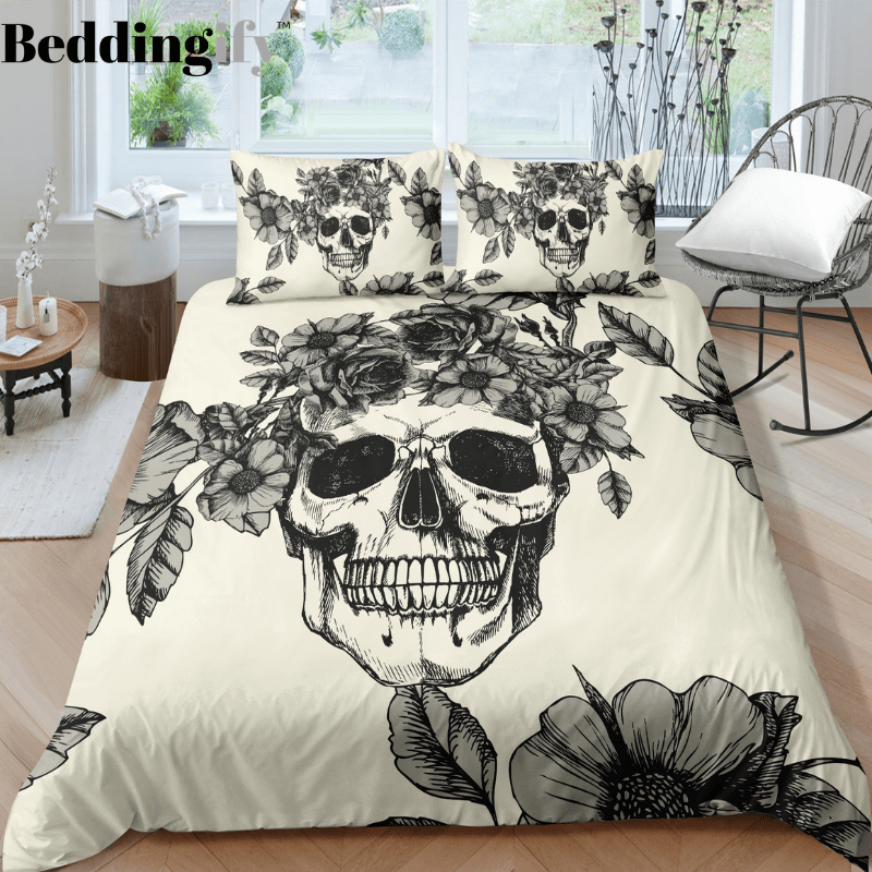 J3 Skull Bedding Set - Beddingify