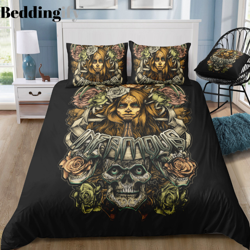 I8 Skull Bedding Set - Beddingify