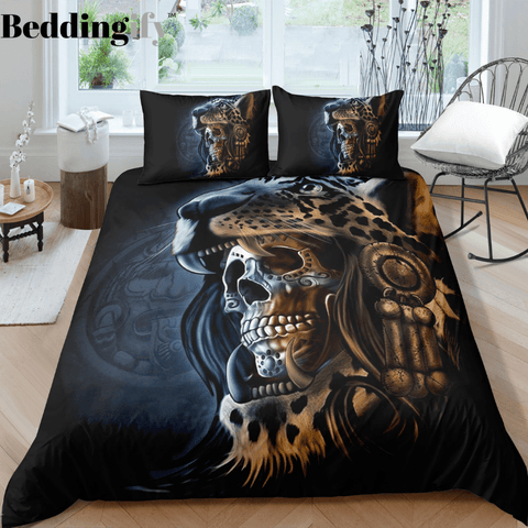 Image of J2 Skull Bedding Set - Beddingify
