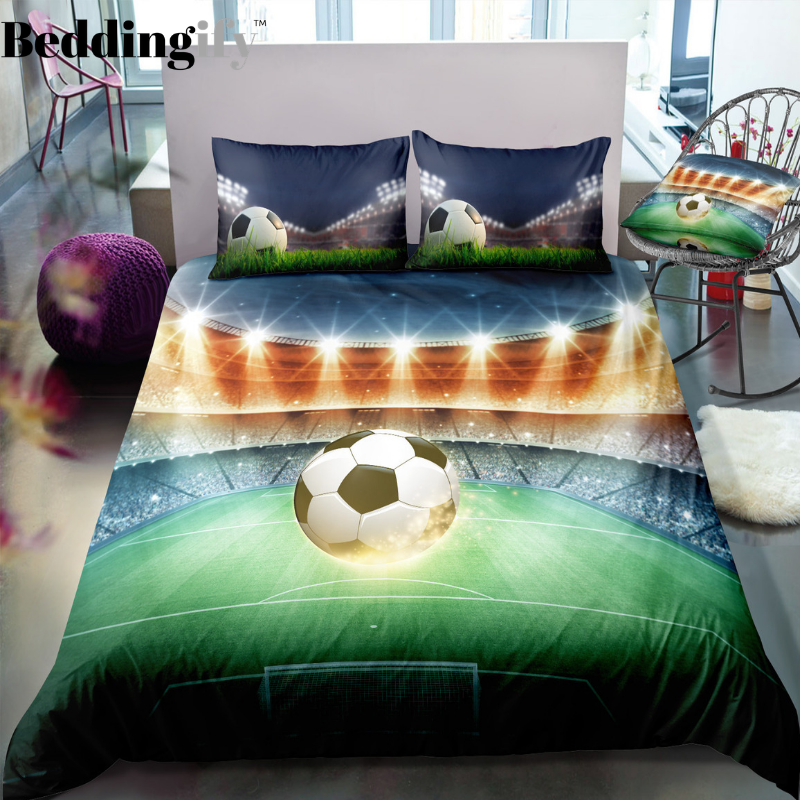 Football Field Bedding Set - Beddingify