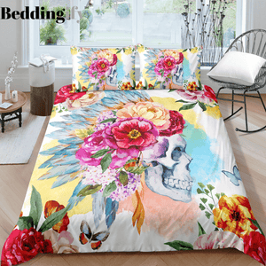 J7 Skull Bedding Set - Beddingify