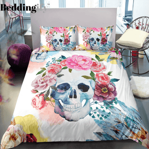 K1 Skull Bedding Set - Beddingify