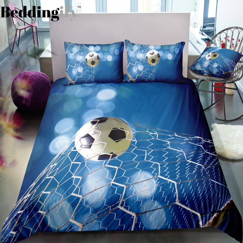 Football Goal Bedding Set - Beddingify