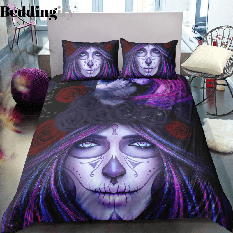 K2 Skull Bedding Set - Beddingify