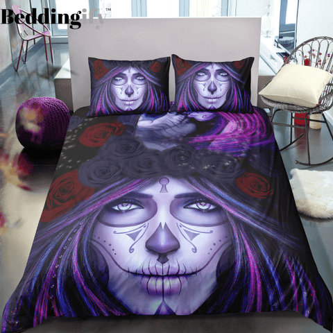 Image of K2 Skull Bedding Set - Beddingify