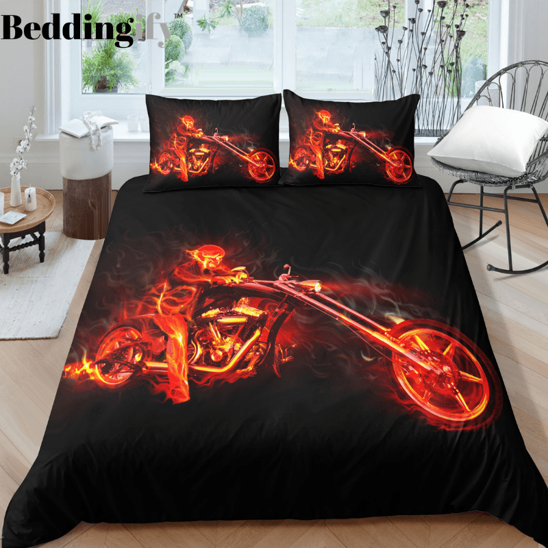 K4 Skull Bedding Set - Beddingify