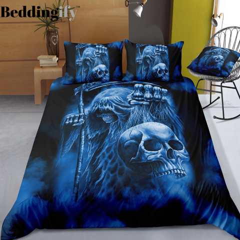 A7 Skull Bedding Set - Beddingify