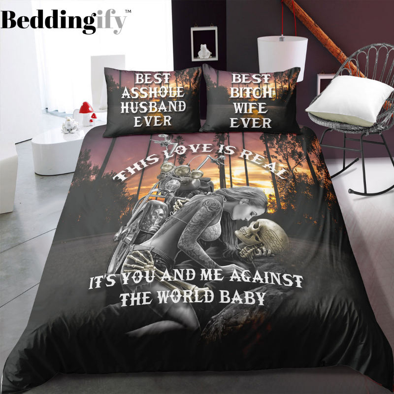 M1 Skull Bedding Set - Beddingify
