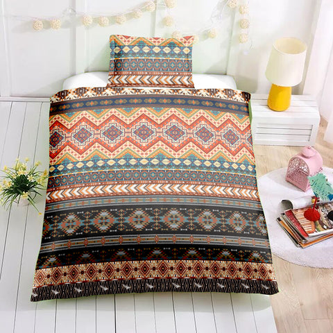 Indian inspired - Blackfeet Aztec Bedding Set - Beddingify