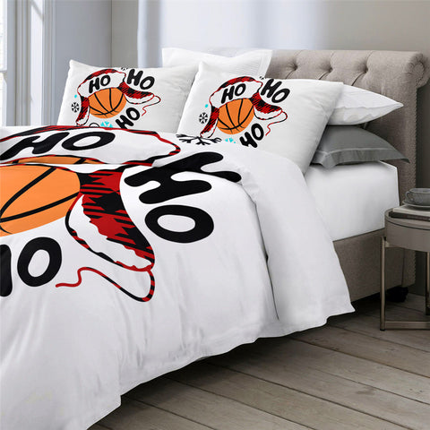 Ho Ho Basketball Bedding Set - Beddingify
