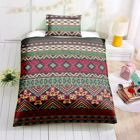 Indian inspired - Native Aztec Bedding Set - Beddingify