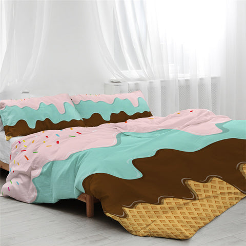 Image of Ice Cream Layers Bedding Set - Beddingify