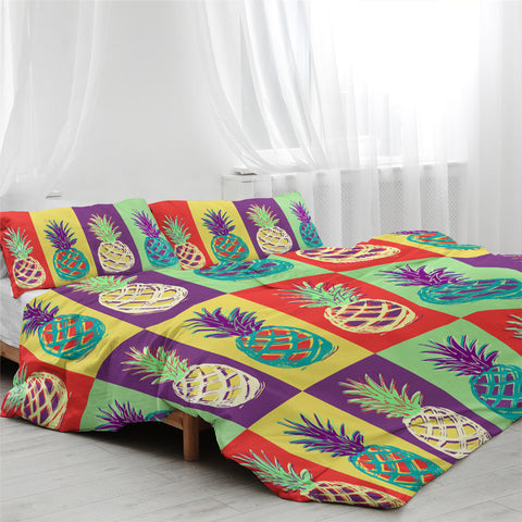 Pineapple Collection Bedding Set - Beddingify