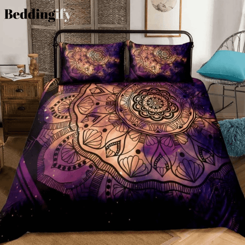 Image of Boho Fantasy Mythology Art Bedding Set - Beddingify