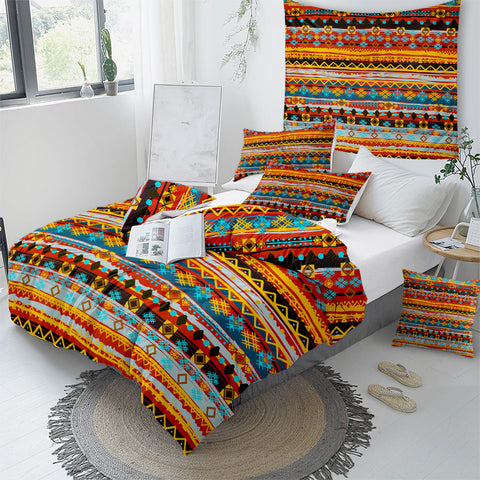 Image of Fringe Designs Bedding Set - Beddingify