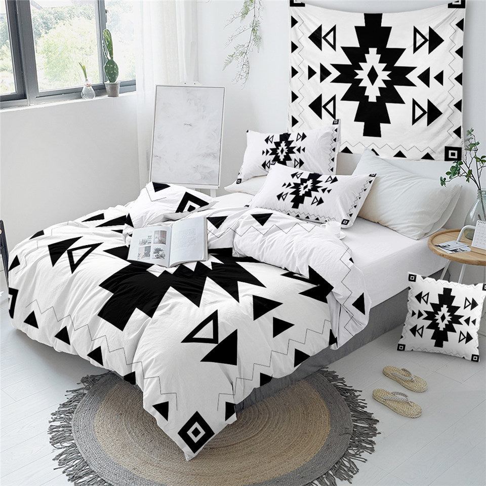 Aztec Simple Designs Bedding Set - Beddingify