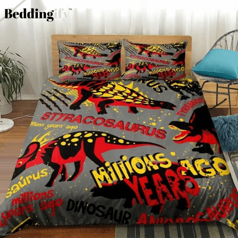 Millions Years Ago Dinosaur Bedding Sets - Beddingify