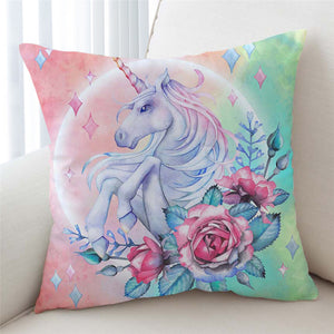 3D Unicorn Dreamy Cushion Cover - Beddingify