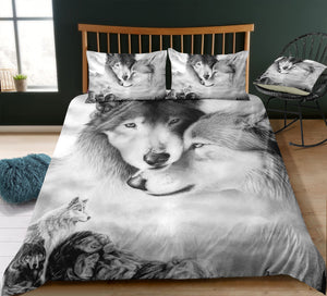 Wolves Family Bedding Set - Beddingify