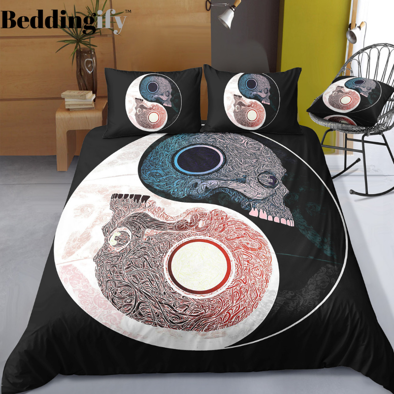 B1 Skull Bedding Set - Beddingify