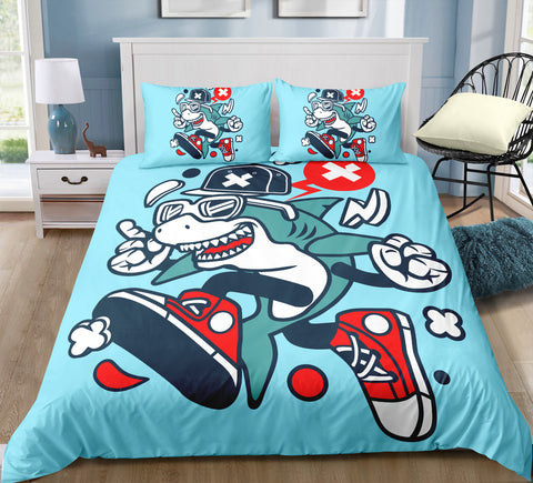 Image of Boys Shark Bedding Set - Beddingify